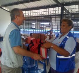 Entrega de Kit de Emergencias Comunitario