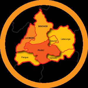 Mapa Cotopaxi